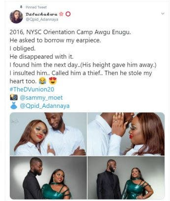 Lady Reveals She Is Getting Married To A Man That 'Stole' Her Earpiece 3