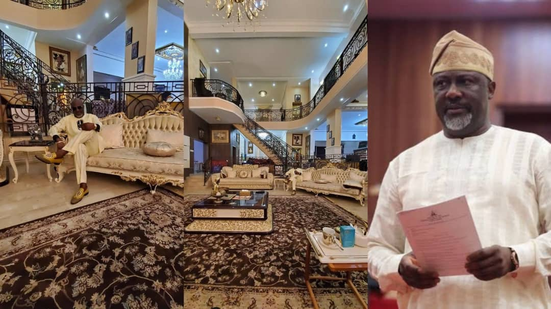 See Photos Of Dino Melaye's Mansion Which Cost 1.5 Billion Naira 6