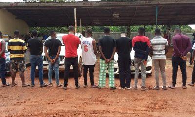 Fraud: Instagram Big Boy, B-Lord, 13 Others Arrested By EFCC In Enugu