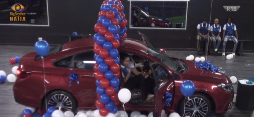 #BBNaija: Ozo Wins Brand New Car From Innoson