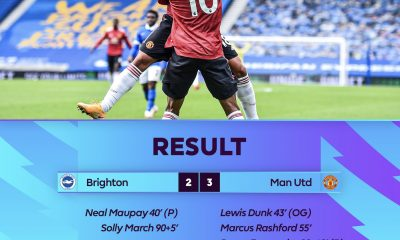 Brighton 2 - 3 Man United