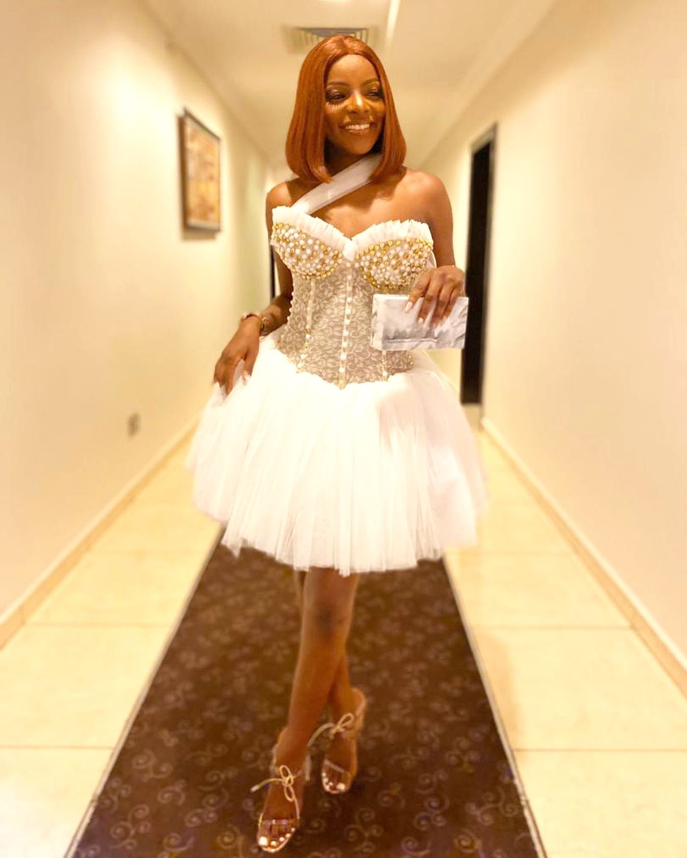 #BBNaija: See How Your Favorite Housemates Dressed To Saturday All-White Party (Photos)