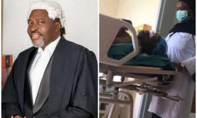 Kanayo O. Kanayo Discharged From Hospital After Nasal Surgery