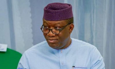 Governor Kayode Fayemi's Suspension Nullified By APC Secretariat