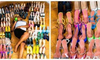 Linda Ikeji Celebrates Her 40th Birthday With 80 Pairs Of Shoes (Photos)