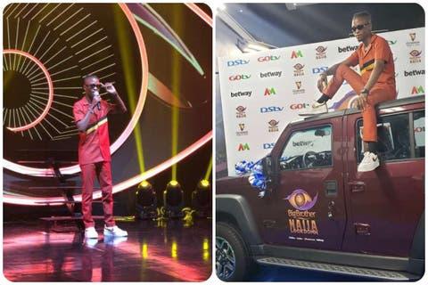 Laycon Recieves His Innoson SUV From Big Brother Naija (Video)