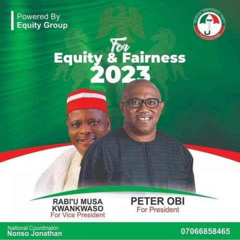 Peter Obi For President Poster Surfaces, He Reacts