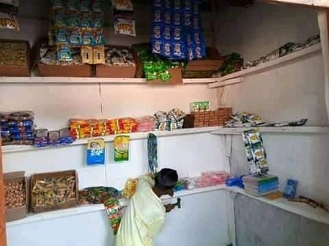 Wow! Primary School Student Opens 'Shopping Complex' In Kano (Photos)