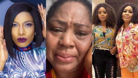 It's Doctored - Rita Daniels Reacts To Video Where She Accused Chika Ike Of Trying To Snatch Ned Nwoko From Regina Daniels
