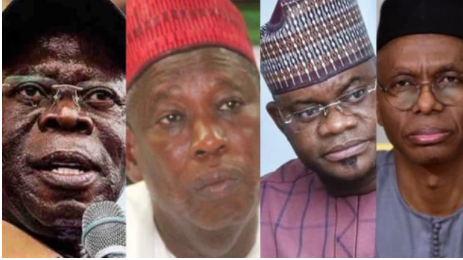 Oshiomhole, Kano And Kogi State Governors Reportedly Handed US Visa Ban Over Election Malpractice