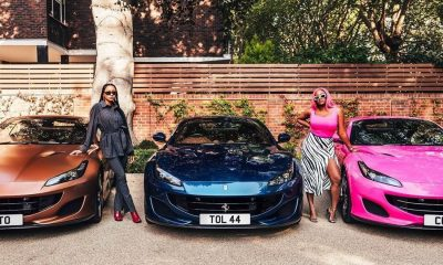 Femi Otedola Gifts His Three Daughters Ferrari (Photos) 8