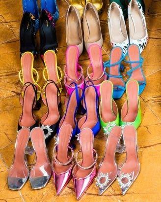 Linda Ikeji Celebrates Her 40th Birthday With 80 Pairs Of Shoes (Photos)