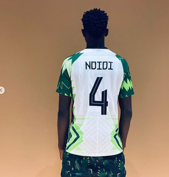 NFF Shows Off Super Eagles' New Jersey And You'll Love It! (Photos)