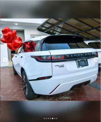 Mercy Eke Gifts Herself Range Rover On Her Birthday (Photos)
