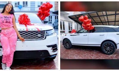 Mercy Eke Gifts Herself Range Rover On Her Birthday (Photos)