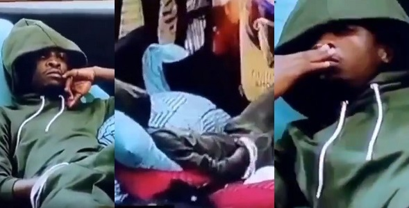 #BBNaija: Laycon Caught On Camera Rubbing His Manhood And Sniffing His Fingers (Video) 3