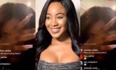 #BBNaija: Mercy Eke Breaks Down In Tears Over Erica's Disqualification (Video) 11