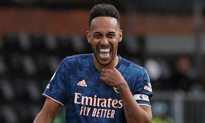 Aubameyang Extends Arsenal Deal By Three Years