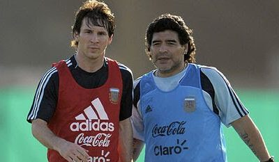 I Knew Messi's Stay At Barcelona Was Going To End Badly - Maradona