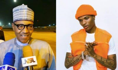 """Nothing Concern You For America"" - Wizkid Attacks Buhari For Wishing Trump Quick Recovery 10"