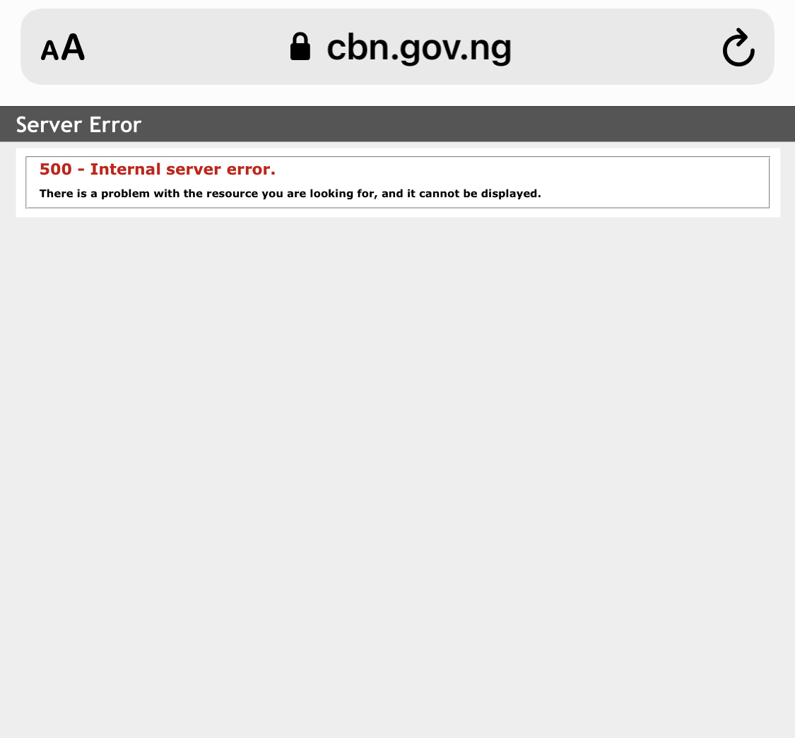 #EndSARS: CBN Website Hacked By Anonymous 3