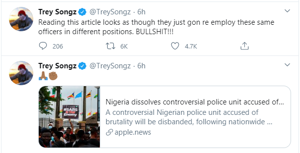 Trey Songz Drags President Buhari Mercilessly