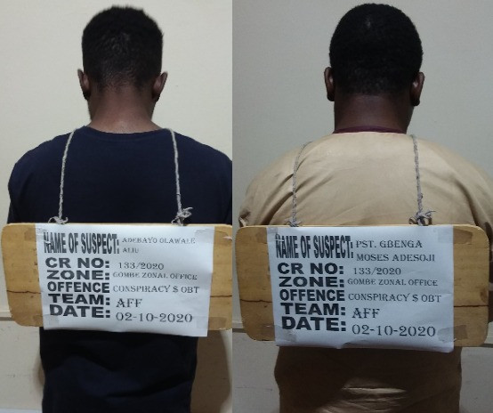 Yahoo Boy And His Pastor Arrested By EFCC Over Alleged N12.7m Fraud