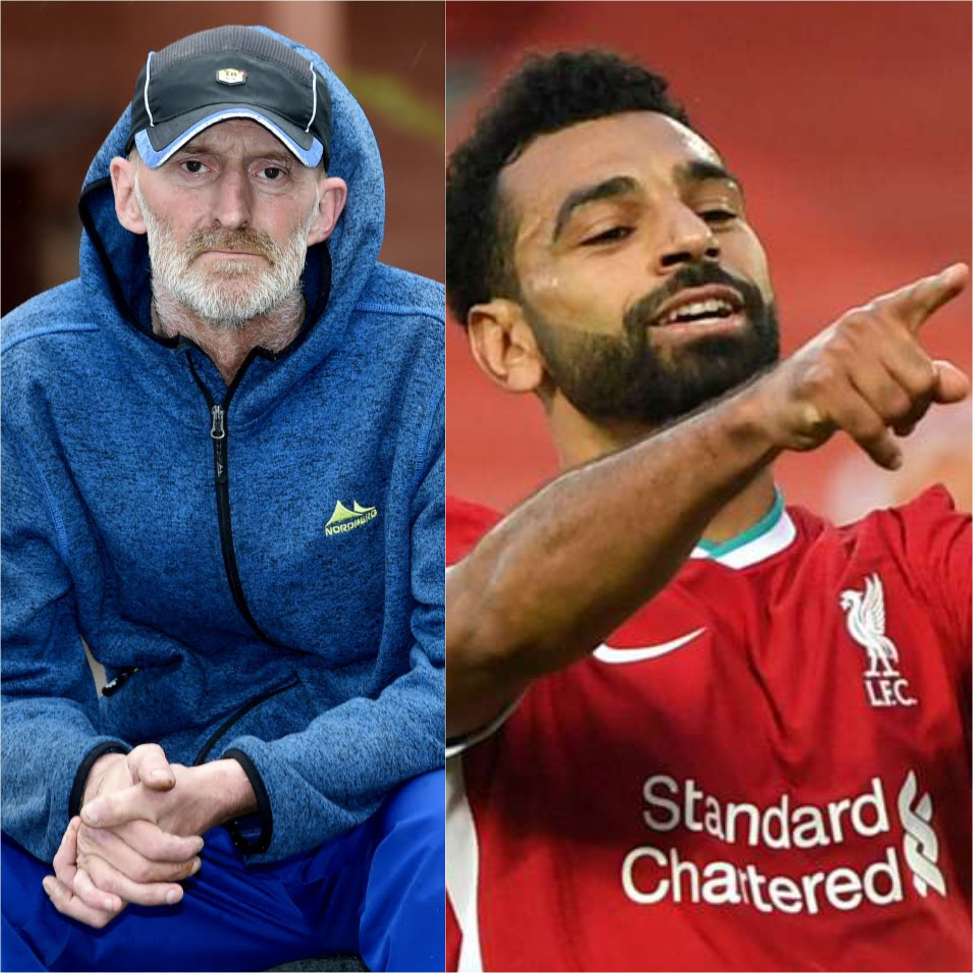 Homeless Man Thanks Mo Salah For Stopping Thugs From Abusing Him On Street