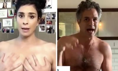 Celebrities Go Naked To Urge Americans To Vote (Video)