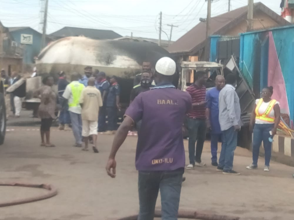 Eight People Dead After Gas Explosion In Lagos (Photos)