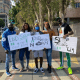 #EndSars: Yung6ix Leads Protest In Los Angeles, US (Photos)