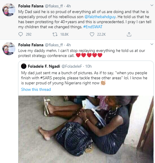 Falz' Father Says He Is Proud Over The Singer's Involvement In #EndSARS Protests