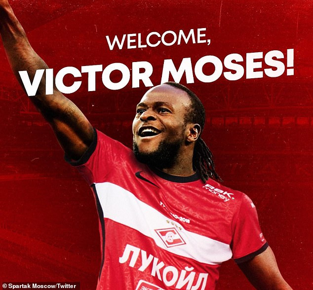 Victor Moses Joins Spartak Moscow On Season-Long Loan From Chelsea