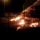 #EndSARS: Lekki-Ikoyi Toll Gate Set On Fire (Video)