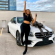 Nigerian Lady Unblocks All Her Haters As She Acquires 2020 Mercedes Benz 21