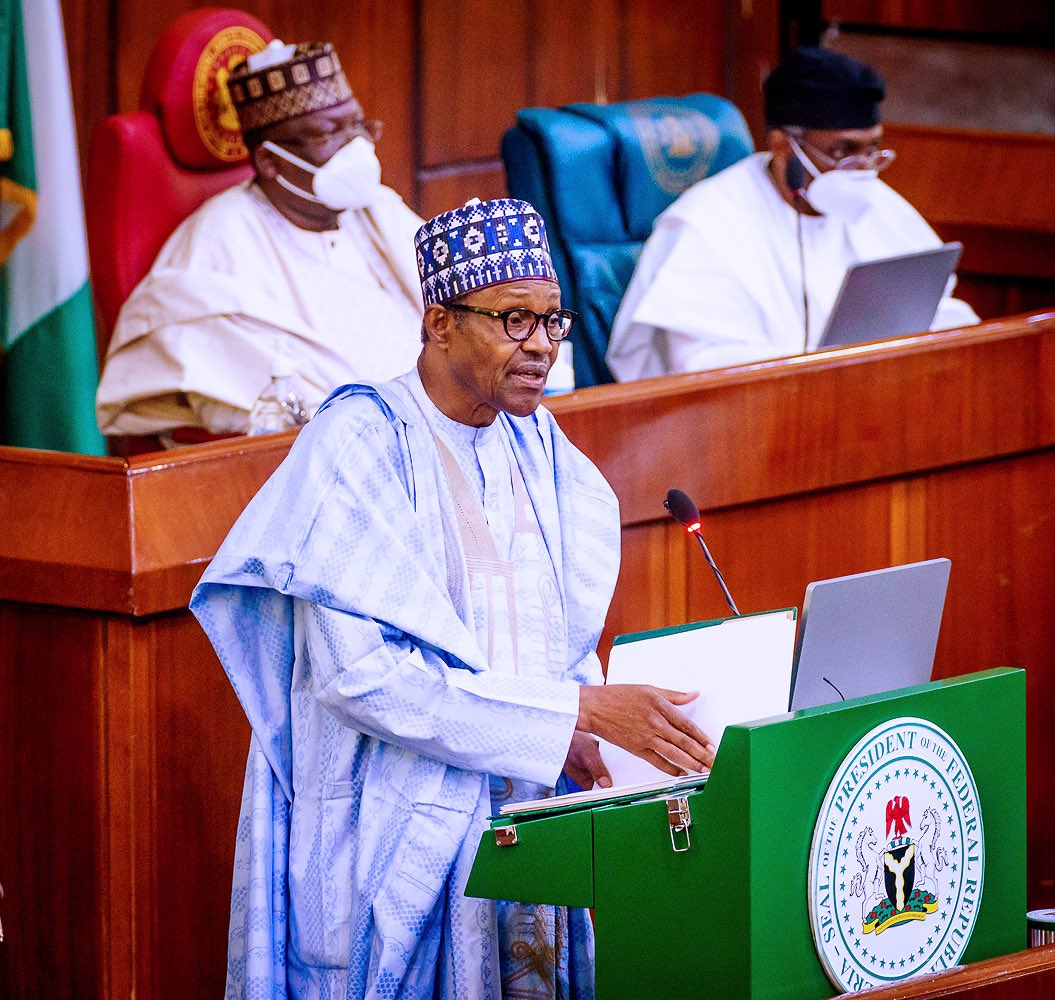 President Buhari Presents N13Trillion 2021 Budget To National Assembly