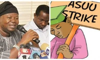 ASUU Reveals Why They Are Still On Strike