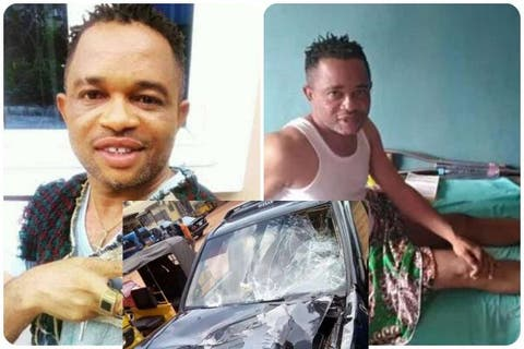 Actor Kingsley Orji 'Egbeigwe' Now Crippled After Ghastly Accident