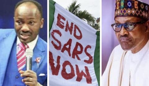 "Apostle Johnson Suleman Trashes Buhari's Speech, Calls It ""Insensitive And Useless"""