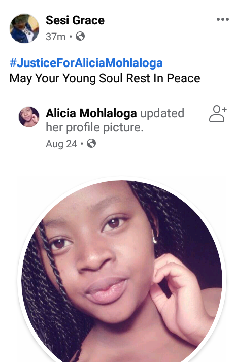 South African Police Officer Shoot Dead 16-Year-Old School Girl