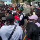 Zlatan Leads #ENDSARSNOW Protest In Ghana (Video)