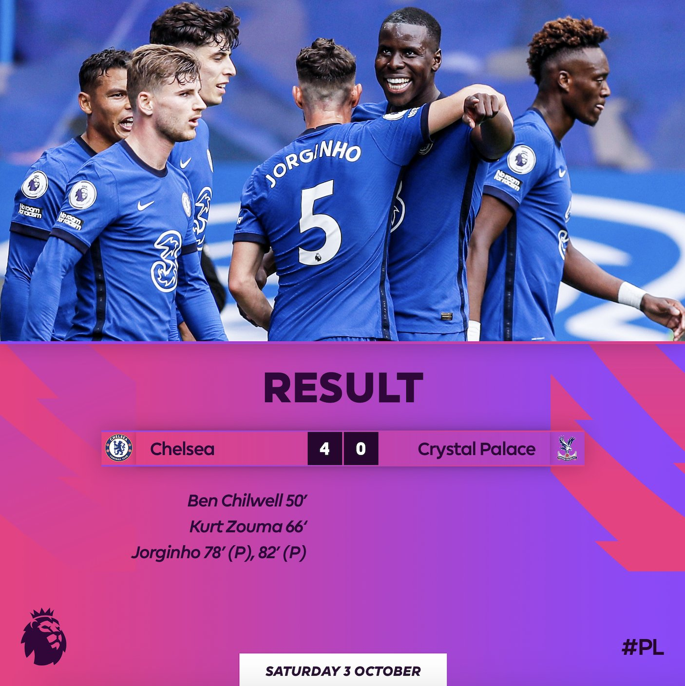 Chelsea 4 – 0 Crystal Palace Highlight Mp4 Download
