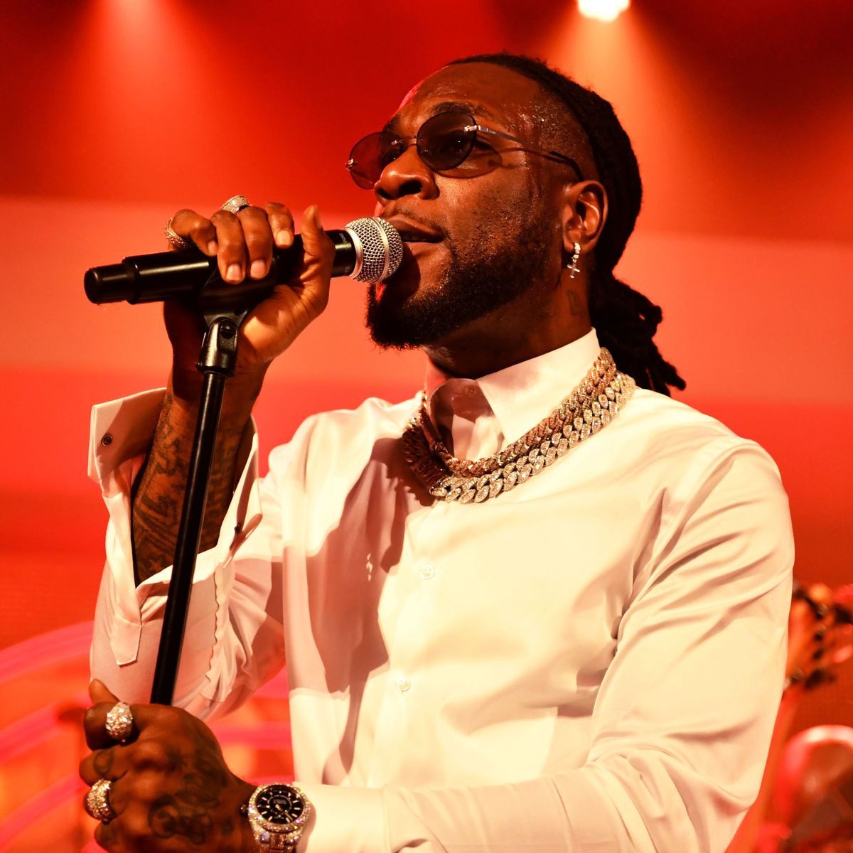 """Even Jesus Was Crucified"" - Burna Boy Says After #EndSARS Protesters Rejected His Song (Video)"