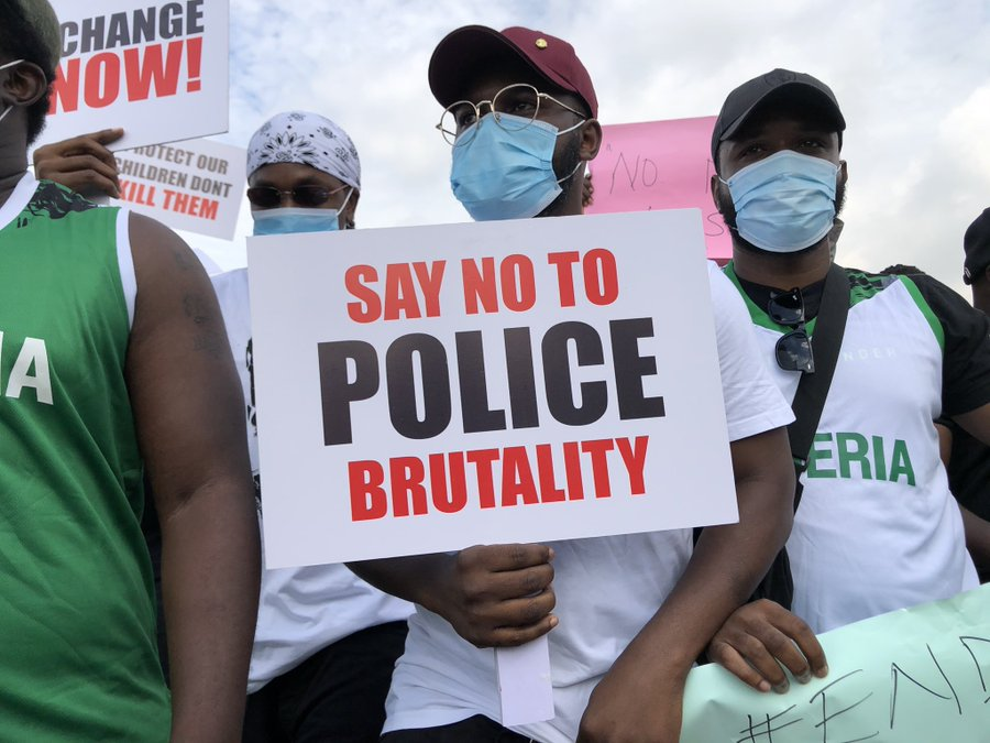 #ENDSARS: Runtown And Falz Lead Protest Against SARS In Lagos (Photos/Videos)