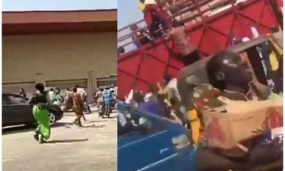 Kwara Youths Move Coronavirus Palliatives After Uncovering Warehouse In Ilorin