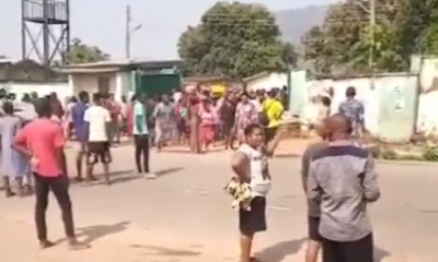 Hoodlums Loot From NYSC Camp In Abuja (Video)