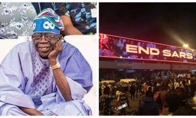 Proceeds from Lekki Tollgate should go to police brutality victims - Tinubu