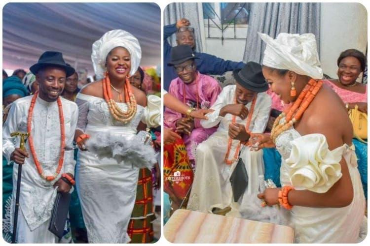 Erigga Gets Married To His Partner Morenike (Photos)