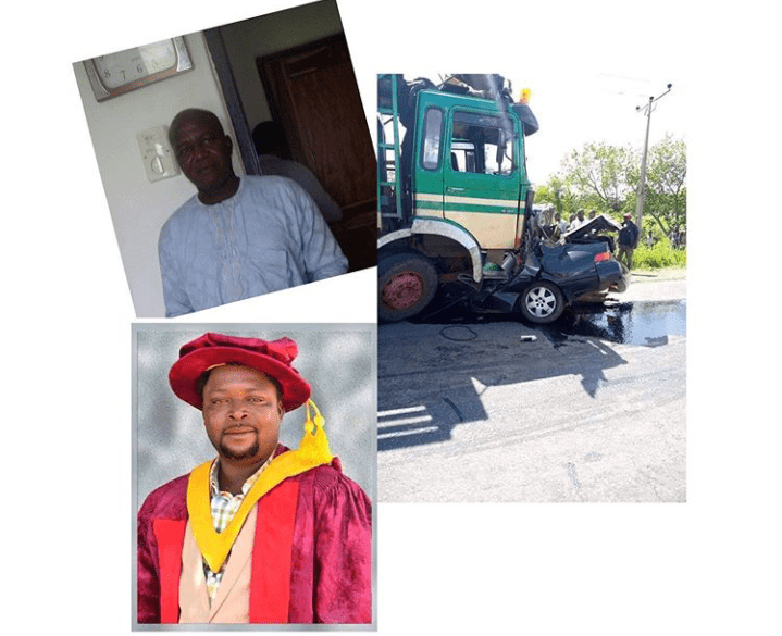 Truck Crushes Two Lecturers To Death In Benue State