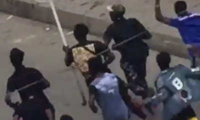 #EndSARS: Oba of Lagos' Palace Attacked, His Staff Of Office Taken Away (Videos)